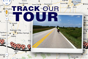 Track Our Tour!